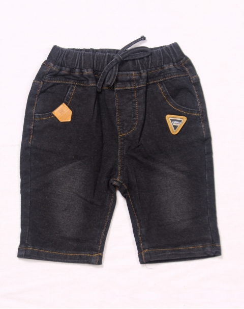 Fashion And Freedom Half Pant Mid Night Black Nepkids