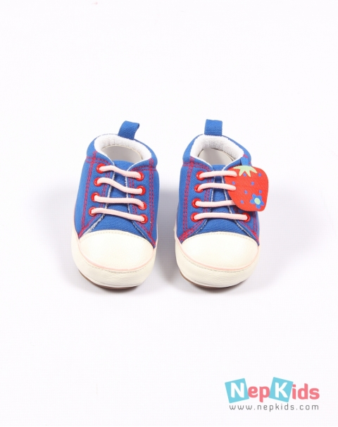 b0d4bd6a6012 ... Just Kids Cute Blue Slip on Shoes for Baby Boy - 6 to 12 months ...