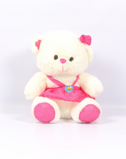 White Lady Bear Sot Toy
